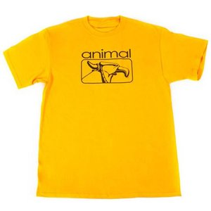 Animal 2000's T-shirt - Gold