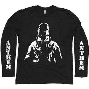 Anthem Long Sleeve T-shirt - Black