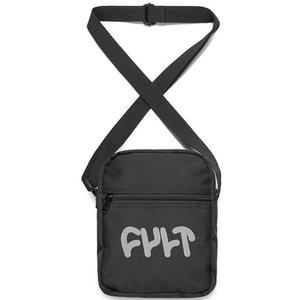 Cult Thick Logo Shoulder Bag - Black
