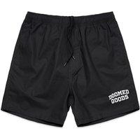 Doomed Beach Shorts - Black
