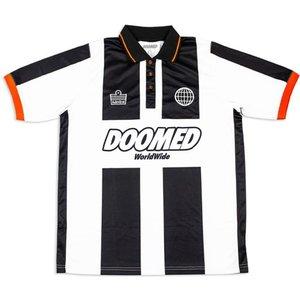 Doomed X Admiral 1897 Football Shirt Black/white