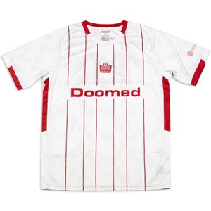Doomed X Admiral 1900 Football Shirt Red/white