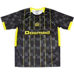 Doomed X Admiral 1919 Football Shirt Black/yellow