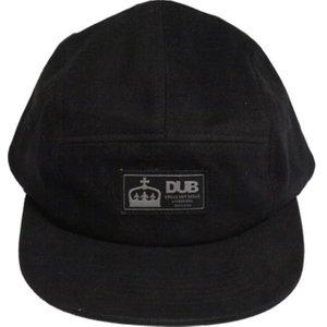 Dub Brow 5 Panel Cap - Black