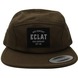 Eclat Mfg Company 5 Panel Cap - Olive One Size Fits Most