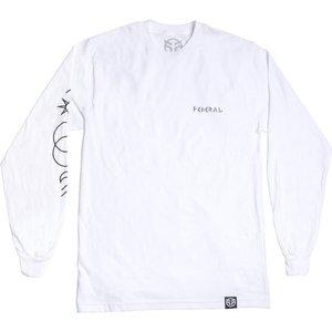 Federal Perrin Long Sleeve T-shirt - White