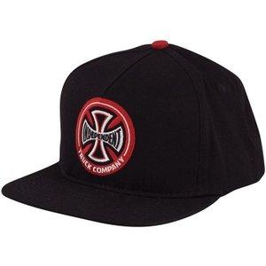 Independent Hollow Cross Cap - Black/red