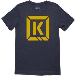 Kink Represent T-shirt - Navy/gold