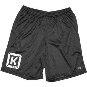 Kink Varsity Shorts - Black