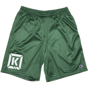 Kink Varsity Shorts - Green