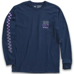 Vans Off The Wall Classic Long Sleeve T-shirt - Dress Blues