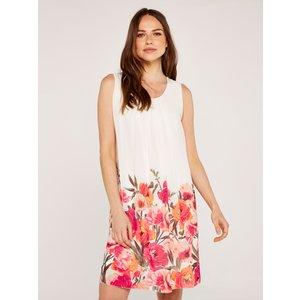 Apricot Cream Floral Shift Dress  5051839477636size10