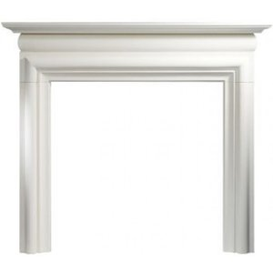 The Gallery Collection Asquith Agean Limestone Fire Surround