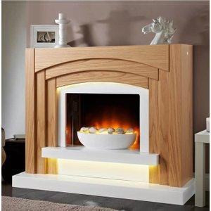 Axon Oakland Electric Fireplace Suite