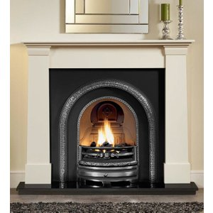 The Gallery Collection Axon Oslo Micro Marble Fire Surround