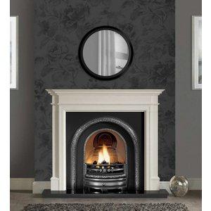 The Gallery Collection Bartello Agean Limestone Fire Surround