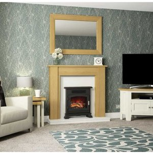 Be Modern Hainsworth Timber Fire Surround