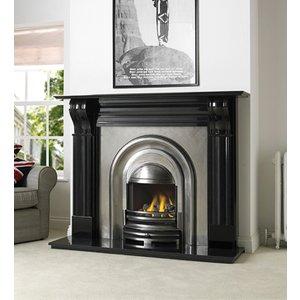 Cast Tec Durham Black Granite Fire Surround