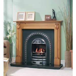 Cast Tec Tulip Wooden Fire Surround
