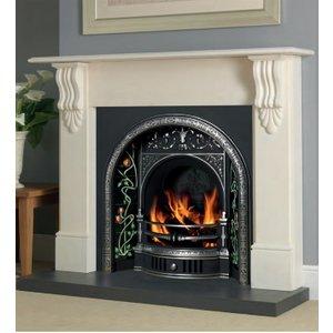Cast Tec Victorian Corbel Turkish Limestone Fire Surround
