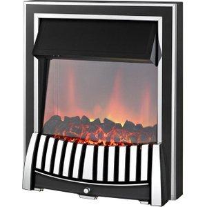 Axon Elan Chrome Inset Electric Fire