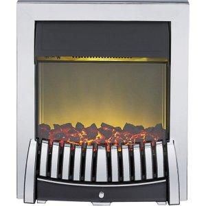 Axon Elise Chrome Inset Electric Fire