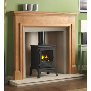 The Gallery Collection Gallery Collection Howard Oak Fire Surround