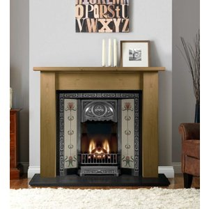 The Gallery Collection Gallery Lincoln Wooden Fire Surround