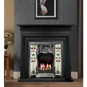 The Gallery Collection Gallery Palmerston Cast Iron Fire Surround