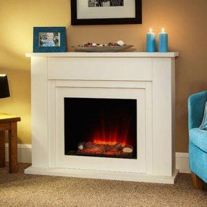 Suncrest Fireplaces Suncrest Bedale 46 Electric Fireplace Suite