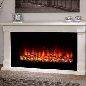 Suncrest Fireplaces Suncrest Bradbury 48 Electric Fireplace Suite