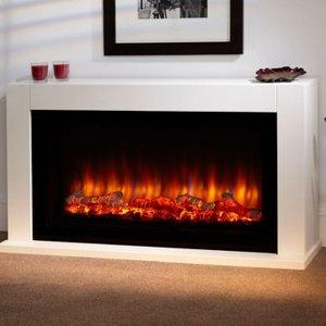 Suncrest Fireplaces Suncrest Lumley 48 Electric Fireplace Suite