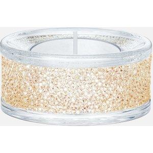 Swarovski Shimmer Tea Light Holders, Gold Tone