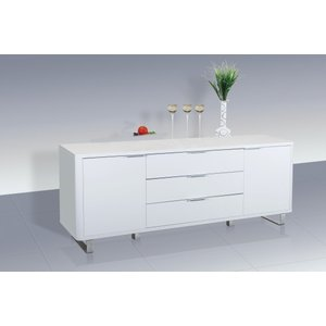Accent Sideboard - High Gloss White
