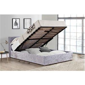 Berlin Fabric Ottoman Bed
