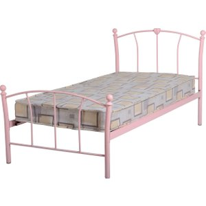 Caitlin Single Bed In Pink