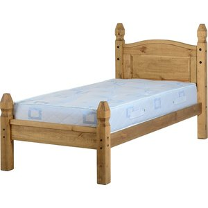Corona Single Bed Low Foot End In Pine