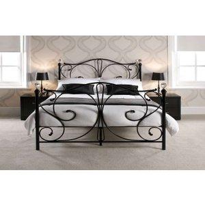 Crystal Metal Bed