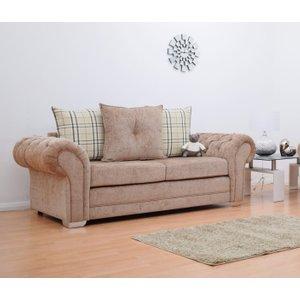 Grampian 3 Seater Luxurious Fabric Sofa