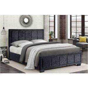 Hannover Fabric Bed Crushed Velvet