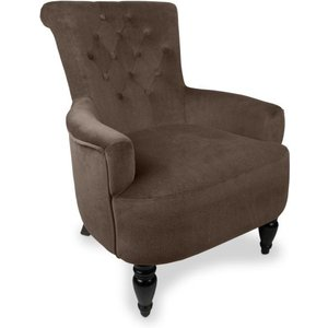 Herbert Single Chocolate Armchair