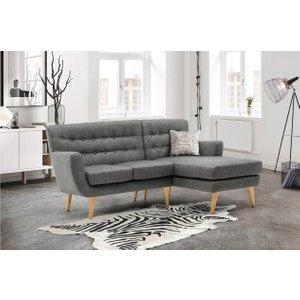 Loft Corner Sofa Grey