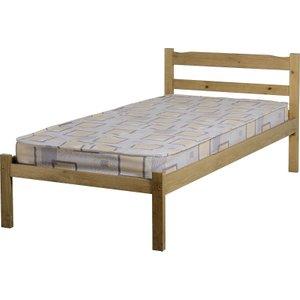 Panama Single Bed In Natural Wax