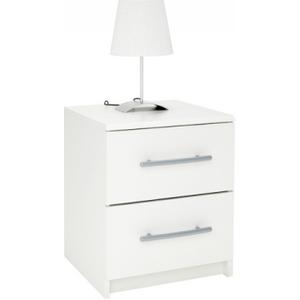 Washington Bedside Cabinet - White