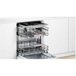 Bosch Smv46nx00g Serie 4 Fully Integrated Dishwasher In St St 14 Pl