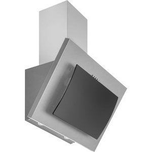 Culina Ublchh60 Ss 60cm Angled Glass Chimney Hood Black Steel 3 Speed