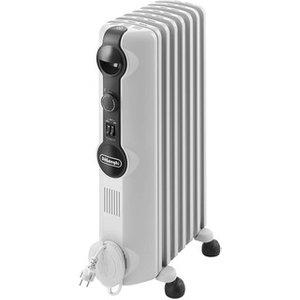 Delonghi Trrs0715 1 5kw Radias Oil Filled Radiator In White