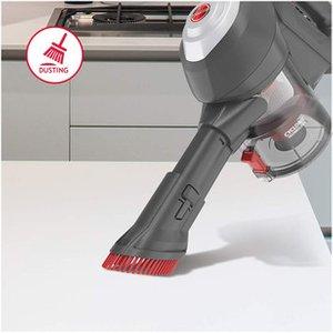 Hoover Hf122gh Cordless Stick Vacuum Cleaner Titanium Red