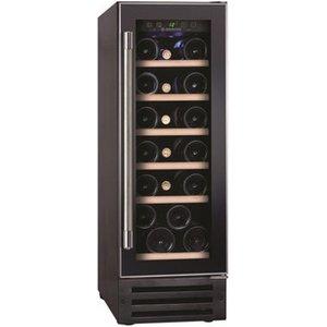 Hoover Hwcb30uk1 30cm Wide Under Counter Wine Cooler In Black 19 Bottl