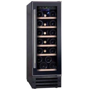 Hoover Hwcb30ukn 30cm Wide Under Counter Wine Cooler In Black 20 Bottl